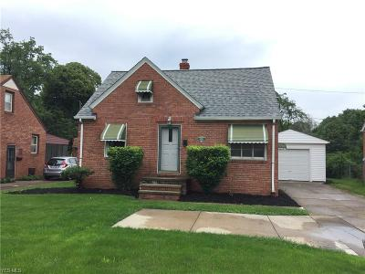 Fairview Park Single Family Home For Sale: 4519 W 210th Street