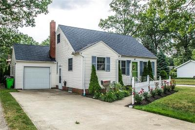 Lorain County Single Family Home For Sale: 177 Parkwood Avenue