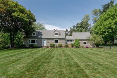 Chagrin Falls Single Family Home For Sale: 4370 S Hilltop Road