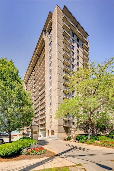 Bay Village, Rocky River, Fairview Park, Westlake, Lakewood Condo/Townhouse For Sale: 12500 Edgewater Drive #703