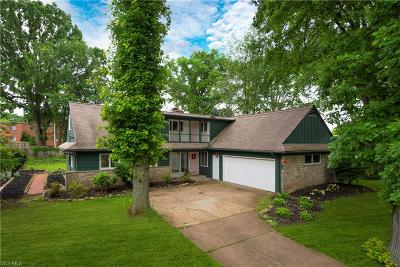 Rocky River Single Family Home For Sale: 22135 Cottonwood Drive