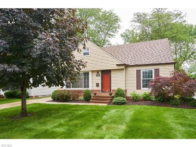 Cleveland Single Family Home For Sale: 16474 Webster Road