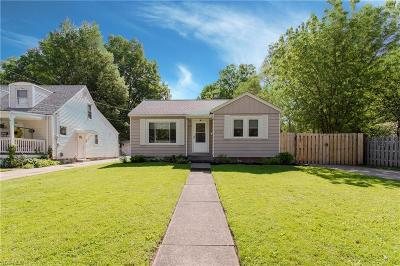 Willoughby Single Family Home Active Under Contract: 4303 Windsor Avenue