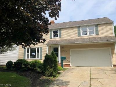 Cleveland Single Family Home For Sale: 981 Professor Road
