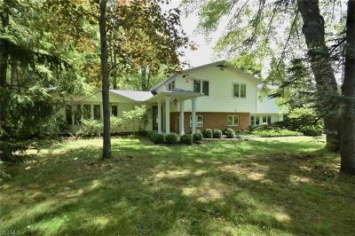 Chagrin Falls Single Family Home Active Under Contract: 15503 Dale Road