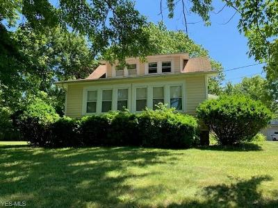 Painesville OH Single Family Home For Sale: $104,900