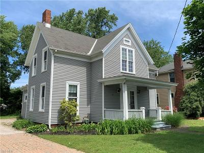 Painesville OH Single Family Home For Sale: $79,500