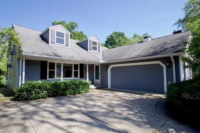 Bay Village Single Family Home Active Under Contract: 367 Lake Forest Drive