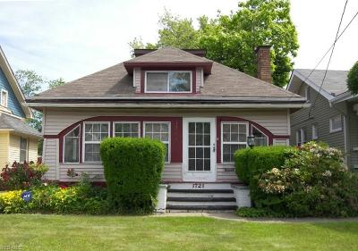 Cleveland Single Family Home For Sale: 1721 Avalon Road