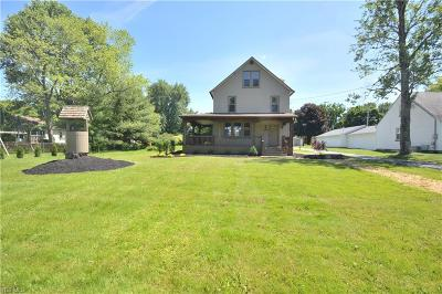 Poland Single Family Home Active Under Contract: 2662 Center Road