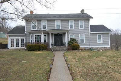 Muskingum County Single Family Home For Sale: 10255 N Morrison Road