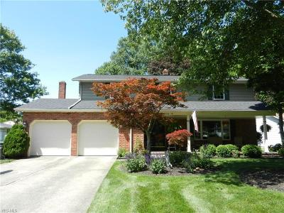 North Olmsted Single Family Home For Sale: 27976 Edgepark Drive