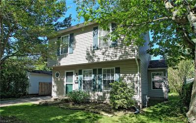 Willoughby Single Family Home For Sale: 718 Chestnut Boulevard