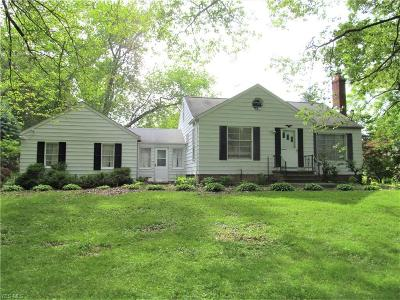Chagrin Falls Single Family Home For Sale: 4920 Lander Road