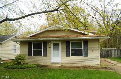 North Ridgeville Single Family Home For Sale: 5675 Pleasant Street