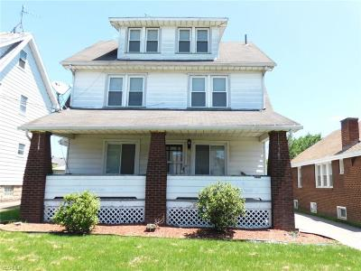 Youngstown Single Family Home For Sale: 111 Manchester Avenue