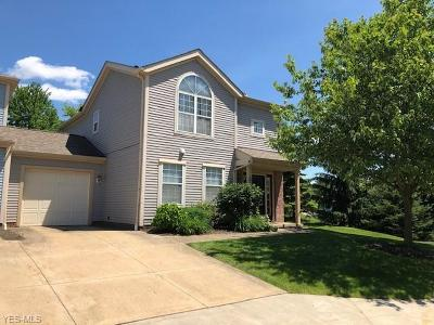Macedonia Condo/Townhouse Active Under Contract: 8589 Wrenford Court