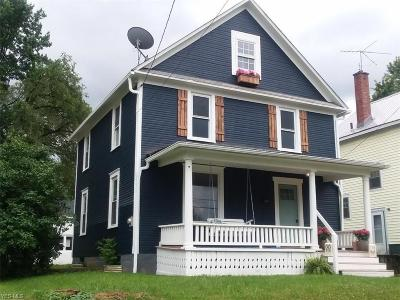 Single Family Home For Sale: 654 W Summit Street
