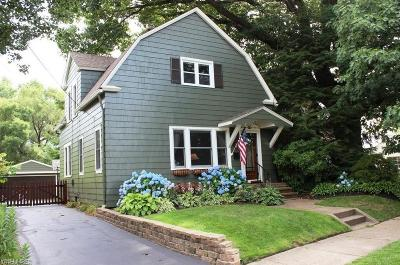 Rocky River Single Family Home Active Under Contract: 19217 Eastlook Road