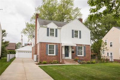 Cleveland Single Family Home For Sale: 3322 W 155
