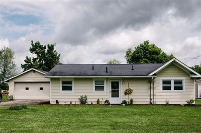Columbiana Single Family Home For Sale: 3438 W Pine Lake Road