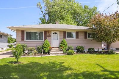 Cleveland Single Family Home Active Under Contract: 19400 Weyburne Avenue