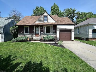 Parma Heights Single Family Home Active Under Contract: 6024 Deering Avenue