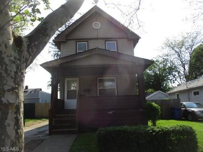 Cleveland Single Family Home For Sale: 1380 E 171st Street