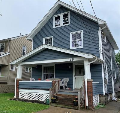 Girard Single Family Home For Sale: 325 Hazel Street