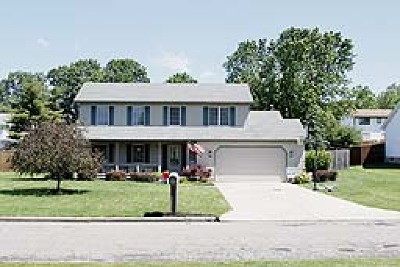Austintown Single Family Home Active Under Contract: 6884 Berry Blossom Drive