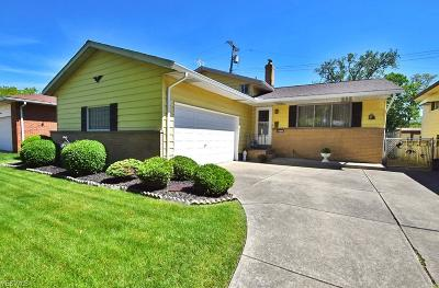 Cleveland Single Family Home For Sale: 17845 Brian Avenue
