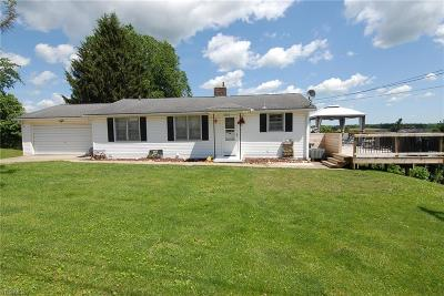 Zanesville Single Family Home For Sale: 5585 Kenny Drive