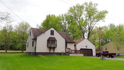 Lordstown Single Family Home For Sale: 1513 Huffman Drive