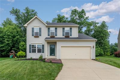 North Ridgeville Single Family Home Active Under Contract: 8800 Wheaton Place