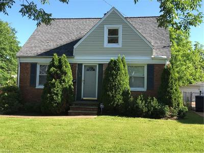 Lyndhurst Single Family Home For Sale: 5139 Haverford Drive