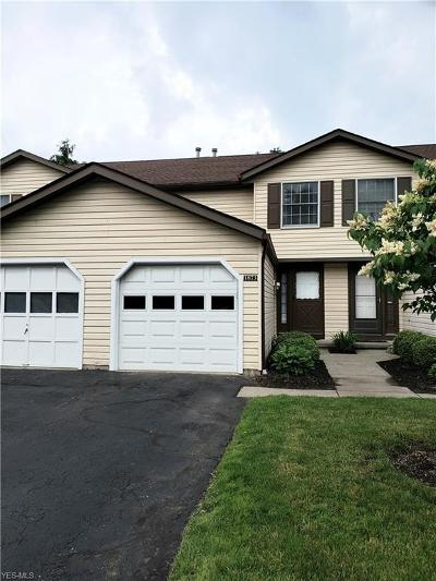 Twinsburg Condo/Townhouse Active Under Contract: 1873 Ridge Meadow Court