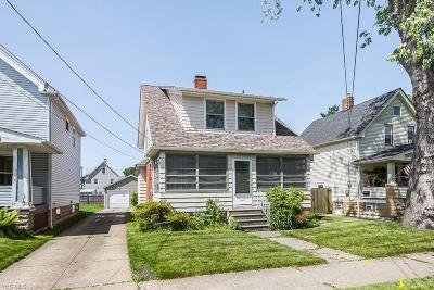 Cleveland Single Family Home For Sale: 1918 Treadway Avenue