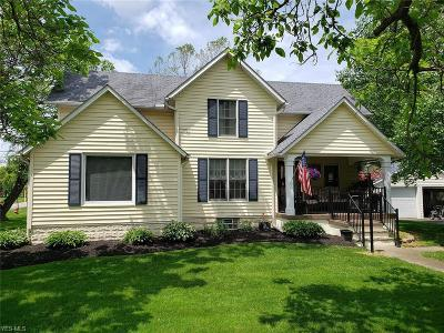 Grafton OH Single Family Home For Sale: $185,900