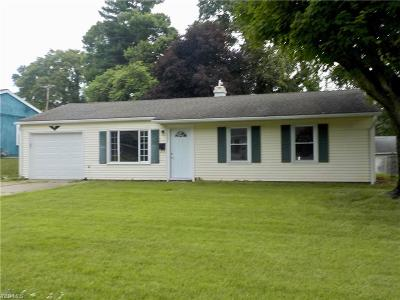 Zanesville Single Family Home Active Under Contract: 1331 Arch Street