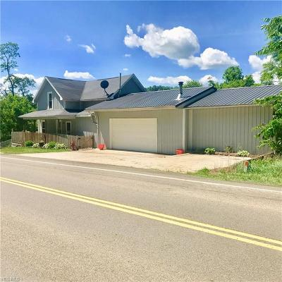 Frazeysburg Single Family Home For Sale: 10519 Pleasant Valley Road