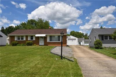 Mahoning County Single Family Home For Sale: 535 Judith Lane
