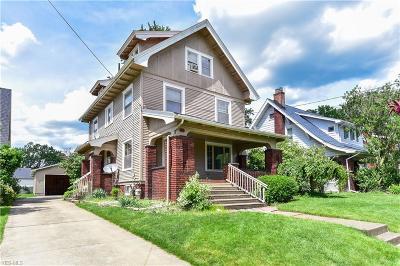 Girard Single Family Home For Sale: 402 E Broadway Avenue