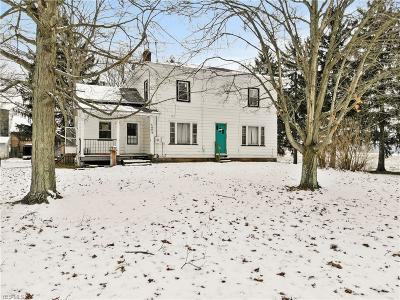 Mahoning County Single Family Home For Sale: 5494 S Salem Warren Road