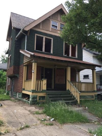 Cleveland Single Family Home For Sale: 708 E 95th Street