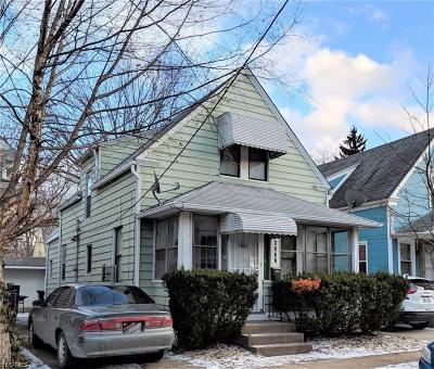 Cleveland Single Family Home For Sale: 3869 W 42nd Street