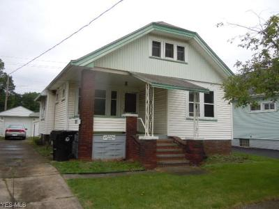 Cleveland Single Family Home For Sale: 3638 W 104th Street