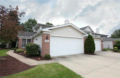 Strongsville Condo/Townhouse Active Under Contract: 19305 Bradford Court
