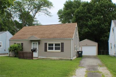 Alliance OH Single Family Home For Sale: $79,000