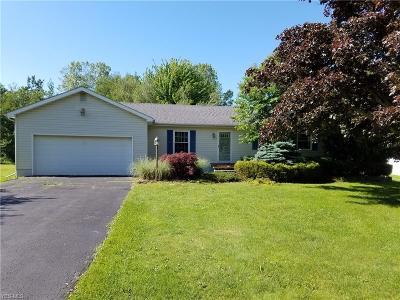 Conneaut Single Family Home For Sale: 550 Creek Road