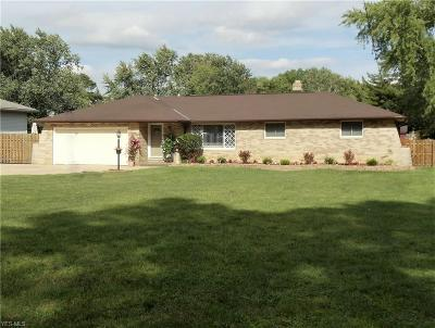 North Royalton Single Family Home Active Under Contract: 15423 State Road